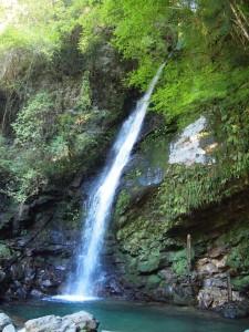 祖谷の琵琶の滝